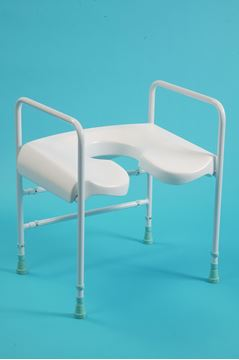 Shower seat and frame
